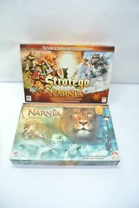 Complete 2005 Lion Witch & The Wardrobe Board Game + 2005 Narnia Stratego
