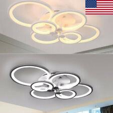 Acrylic Modern Led Lamp Chandelier Light Living Room Bedroom Ceiling Decor Sale