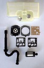 Stihl 029 039 MS290 tune up kit. Air filter ,Carburetor kit  ,fuel line & filter