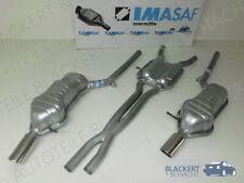 IMASAF Auspuff Anlage ab Kat für Audi A6 quattro C5 2.7 V6 Bi Turbo 184KW 01-05