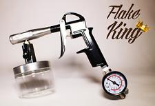 Flake King - Flake o Matic Deluxe - Dry Metal Flake Spray Gun, not Flake Buster
