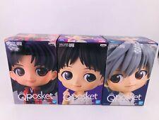 Qposket Figure  Shinji & Kaworu & Misato 3 set !!