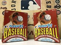 1991 Fleer Baseball Wax Box 36 packs! Great Condition Box! Sealed Packs!! NEW!🔥