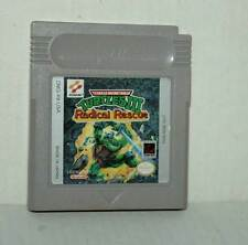 TMNT TURTLES III RADICAL RESCUE USATO NINTENDO GAMEBOY ED AMERICANA FR1 44805