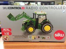 John Deere 7R Avec Chargeur Frontal SIKU Télécommande échelle 1/32 Tracteur Jouet