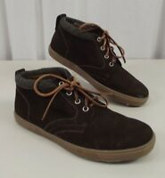 NEW Peter Millar Mens Smoky Mountain Chukka Shoes Boots Size 8.5 M Brown Suede