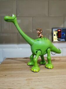 The Good Dinosaur Arlo & Spot Talking Walking Disney Store Toy Action Figure