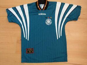 Trikot DFB Adidas Größe S M Deutschland EM 1996 Fußball retro Vintage grün