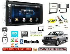 Fits 2008-2012 NISSAN TITAN Touchscreen Stereo Combo Kit, BLUETOOTH USB DVD MP3