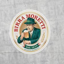 Birra Moretti Logo Sticker Decal Vinyl Laptop Bottle Brewery Beer Italian Italy