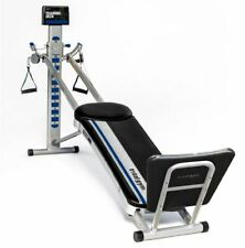 Total Gym FIT with XL Squat Stand & Mobile Device Holder - Blue