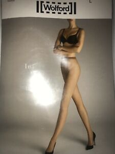 Wolford The Ina Micronet Tights  Color: Honey  Size: Small 19197 - 11