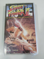STREET FIGHTER II LA PELICULA VHS CINTA TAPE CASTELLANO ANIME MANGA NEW NUEVO