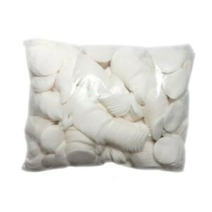 1200pcs Cosmetic Lint Free Cotton Wool Pads Face& Make-Up Remover 0.5kg