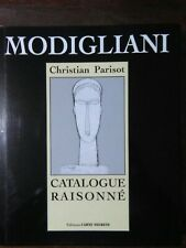 Parisot Modigliani CATALOGUE RAISONNE dessins acquarelles CATALOGO RAGIONATO