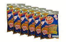 6 packs - Naks Pak 8oz Butter Flavor Coconut Oil & Popcorn Packs for 6 oz popper