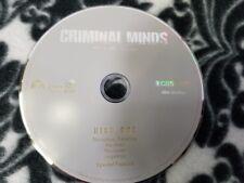 Criminal Minds Season 5 Disc 1 DVD DISK ONLY
