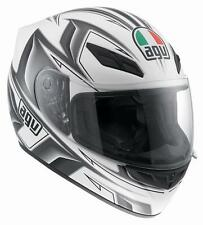 CASCO AGV K-4 EVO ARROW BLANCO/GUN METAL talla XS