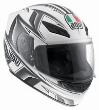 CASCO AGV K-4 EVO ARROW BLANCO/GUN METAL talla XL