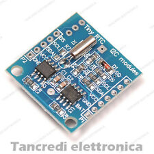 Modulo real time clock RTC DS1307 con batteria inclusa shield arduino orologio