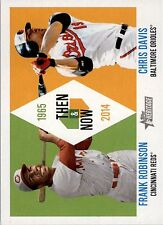 2014 Topps Heritage Then and Now #TANRD Frank Robinson / Chris Davis