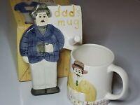 Vintage Sigma Tastesetter Les Artisans Hanging Dad's Mug Set Mug + Holder NIB