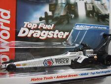 Auto World 4-Gear Top Fuel Dragster Slot Car ~ Matco Tools