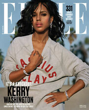 ELLE MAGAZINE April 2016 with KERRY WASHINGTON and  CHRISSY TEIGEN on covers