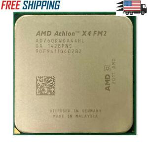 AMD Athlon X4 760K Cpu 3.8GHz Quad Core Socket FM2 Processor USA SELLER