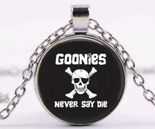 Goonies never say die movie necklace Pendant chuck one eyed willy pirate