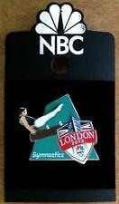Olympic Sponsor Pin~Media~NBC~London~2012~Gymnastics~Slider~Shield~Big Ben~3D