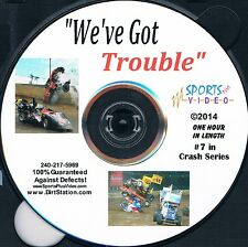 We've Got Trouble Crash DVD Non Stop Speedway Crashes