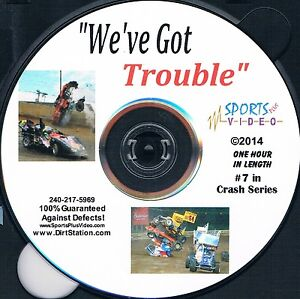 We've Got Trouble Crash DVD Non Stop Speedway Crashes