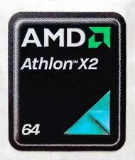 AMD Athlon 64 X2 Sticker 17 x 21mm Case Badge Logo Label USA Seller