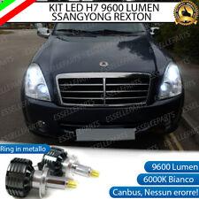KIT FULL LED SSANGYONG REXTON LED H7 6000K XENON CANBUS 9600 LUMEN LED A 360°