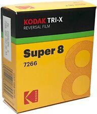 Kodak V3 Super 8mm Black & White Reversal Film 7266 Official Reseller UK Based