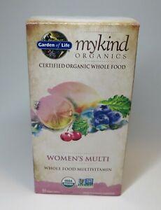 myKind Organics Women's Multi Vitamin 60 Vegan Tablets Garden Of LIFE Organic