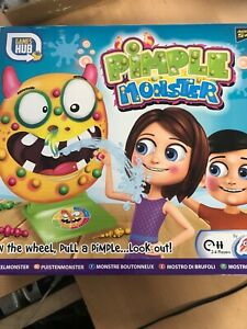 Pimple Monster Game Family Fun the Monsters Spray Pimples Zits