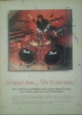 Tico Torres autographed inperson Pearl magazine page add in blue sharpie