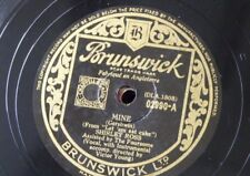 78 tr/min Shirley Ross mine/que certain sentiment