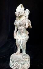 Spiritual Hanoman Statue Gada Weapon War Bronze Brass Patina Bali Sculpture Art