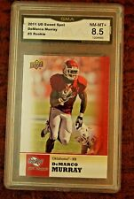 GRADED FOOTBALL CARD 2011 UD SWEET SPOT DEMARCO MURRAY TITANS OKLAHOMA NM-MT 8.5