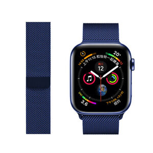 Magnetic Stainless Steel Strap For Apple Watch Band 6 SE 5 4 3 1 Sport iWatch