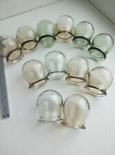 USSR CHINESE MASSAGE THERAPY SET OF 12 GLASS MASSAGE CUPS CUPPING JARS