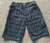 lululemon Blue Diamond Shorts Wet Dry Warm