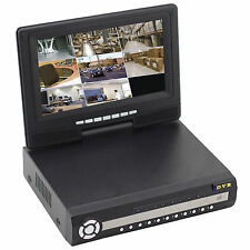 Display CCTV 8 Channel DVR HDMI Outdoor Home Video Surveillance Security System