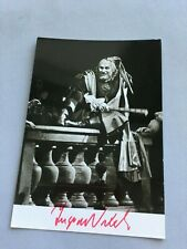 INGVAR WIXELL †2011 Opernsänger signed Foto-Karte 10x15 Autogramm