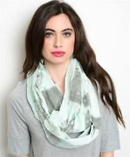 Mint City Of London Print Infinity Scarf