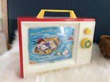 🌟 Jouet Télévision Musicale Fisher Price Toys Réédition Vintage