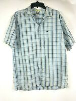 The North Face A5 series mens Large plaid button-up long sleeve shirt